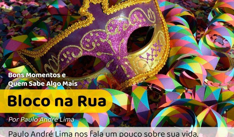 Máscara e bloco de ruas para lembrar dos Secos e Molhados e de Ney Matogrosso