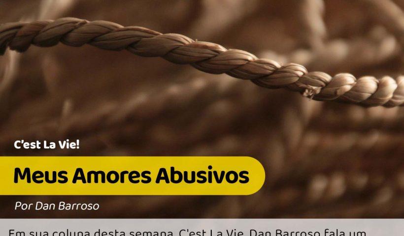 Foto de uma corda simbolizando o quanto os amores abusivos nos amarram #pracegover