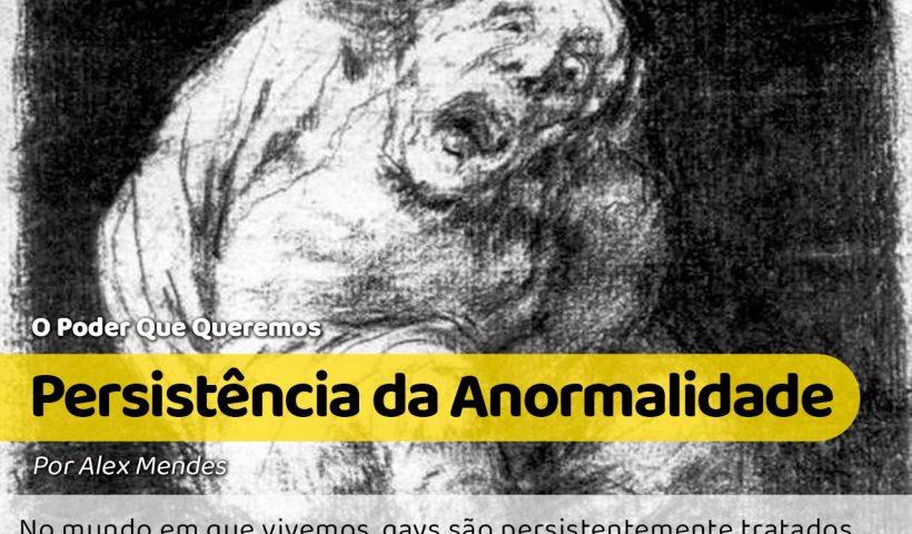 "Para ilustrar a anormalidade: Desenho de Francisco Goya (1746-1828), chamada ""O Idiota"" (1824-1828)."