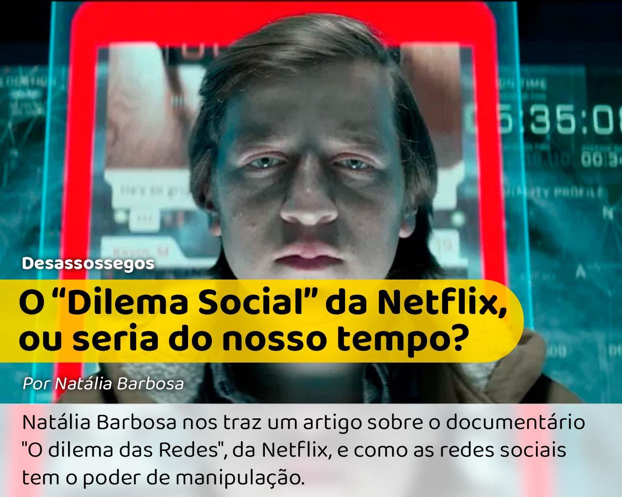 Foto do documentário O dilema Social da Netflix que fala sobre o impacto das redes sociais em nossas vidas (foto: reprodução)