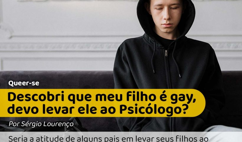 Foto de um garoto no psicólogo