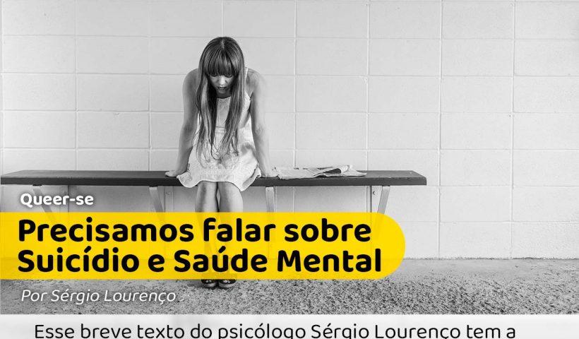 foto em preto e branco com um garota sentada numa cadeira pensativa. Estaria ela penando em suicídio?